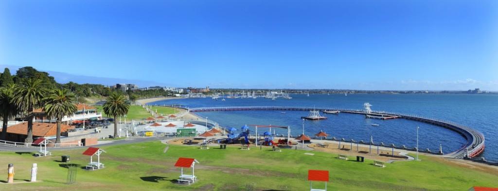 Eastern Beach Reserve Geelong Waterfront