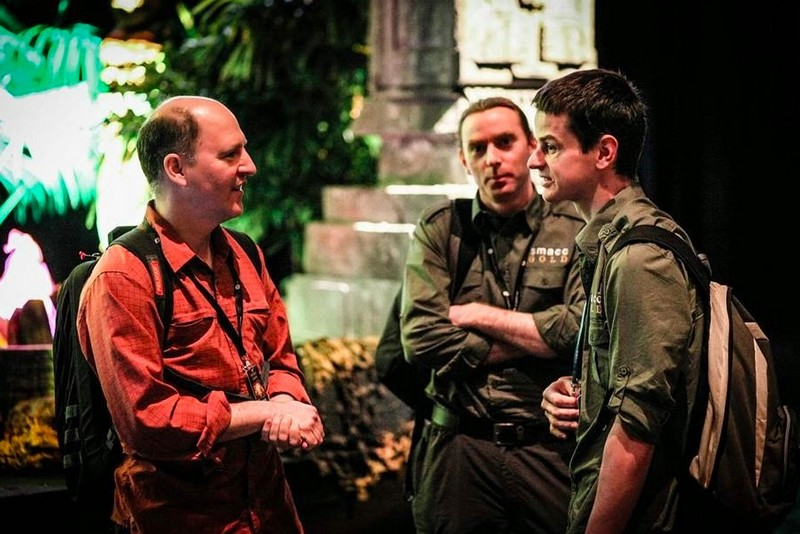 smaccGOLD in Brisbane 2013 – Andy Neill (right), John Hinds (centre) & Rich Levitan (left)